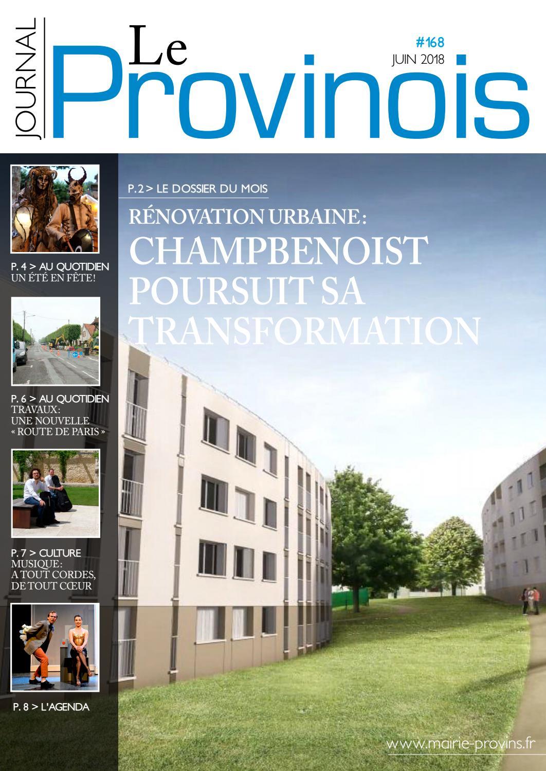 Provinois N168 Juin Août 2018 By Ville De Provins Issuu