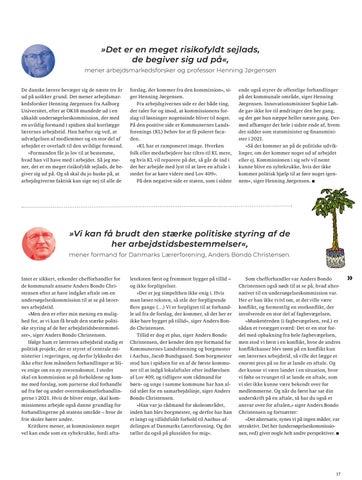 Page 17 of Kommisionen sejler mellem naivitet og nyt land