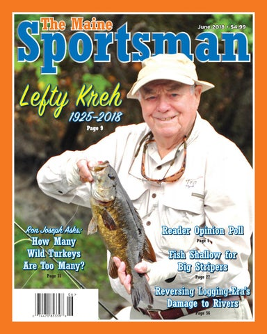 The Maine Sportsman - June 2018 by The Maine Sportsman