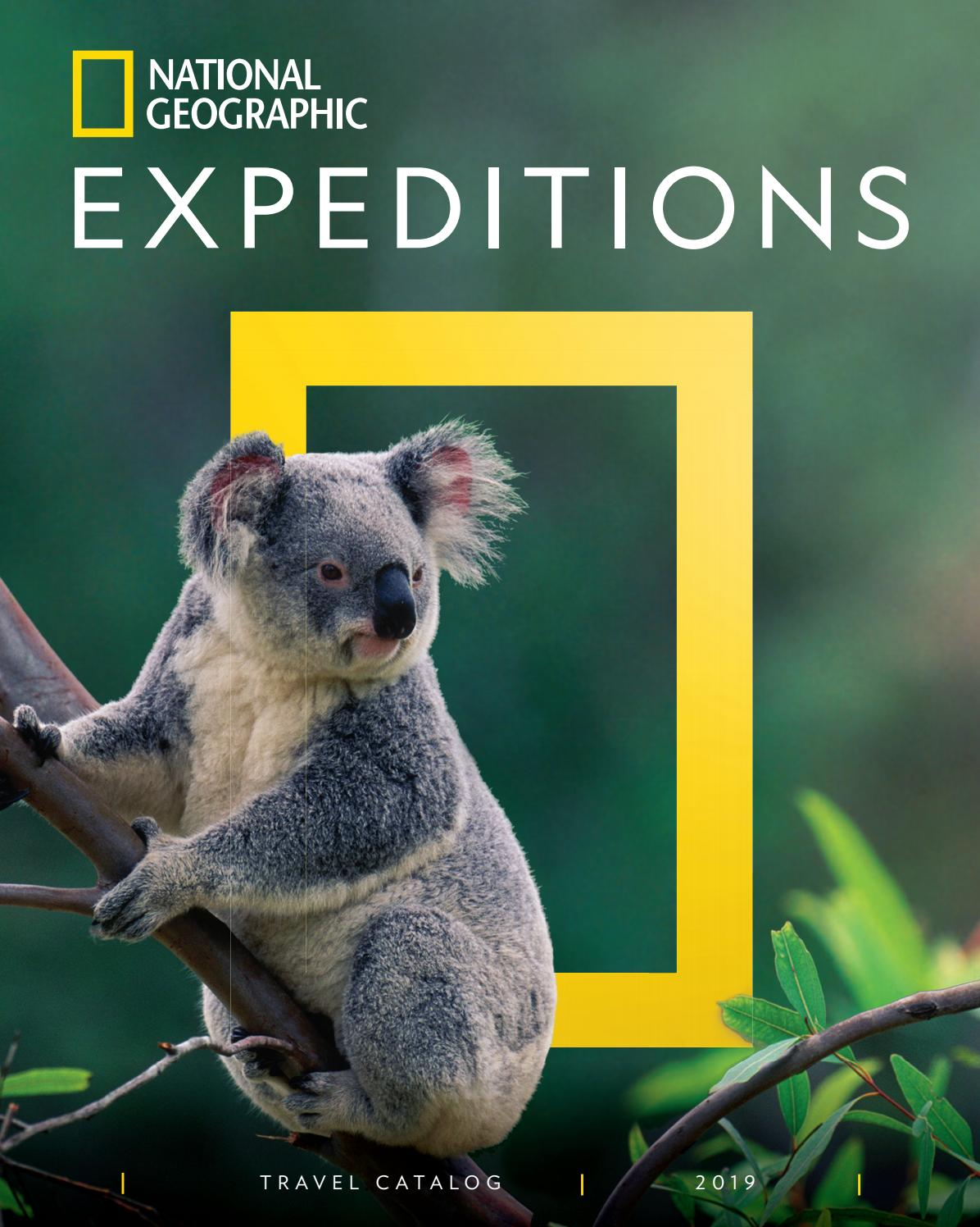 2019 National Geographic Expeditions Catalog By