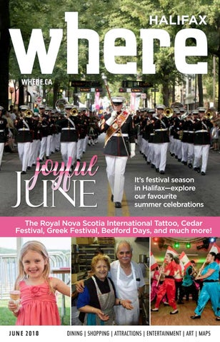 885317148246d1 Where June 2018 by Metro Guide Publishing - issuu