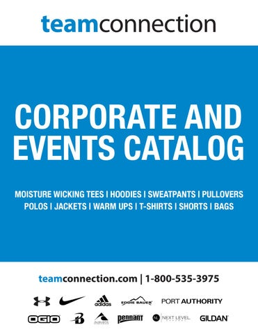 15b58d4a1 Corporate And Events Catalog by Team Connection - issuu