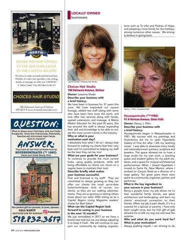 Page 10 of Locally Owned Businesses