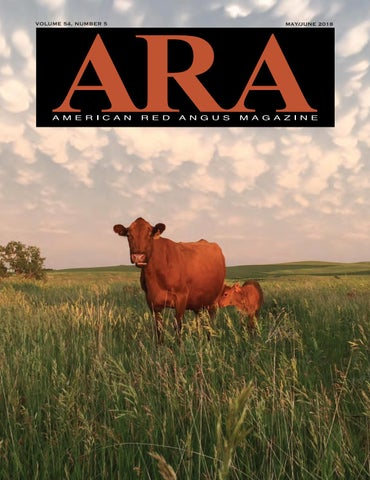 May/June 2018 ARA Magazine by Red Angus Association of