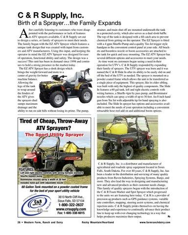 Western Farm, Ranch and Dairy Magazine – Summer-Fall 2018 by Ritz Family  Publishing, Inc. - issuu