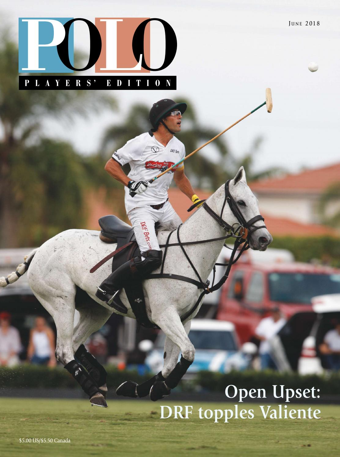 June 2018 Polo Players' Edition by United States Polo