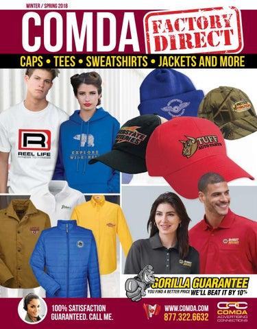 3262dbc715c924 COMDA Apparel 2018 - Canada by COMDA Advertising Connections - issuu