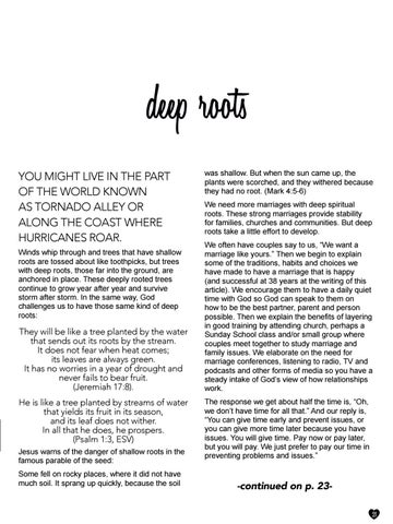Page 21 of Deep Roots by Pam Farrel