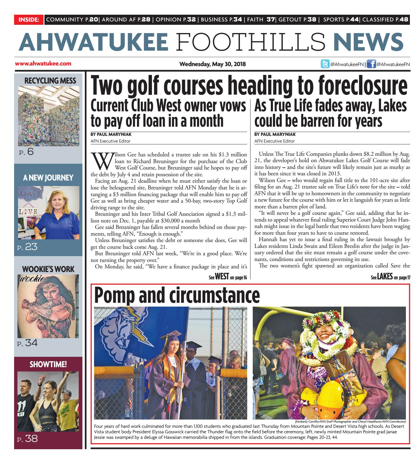 50a108993de2 Ahwatukee Foothills News - May 30 2018 by Times Media Group - issuu