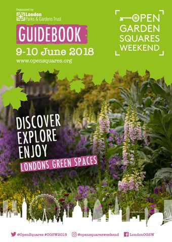 46f1c4bcec810e Open Garden Squares Weekend Guidebook 2018 by London Parks and ...