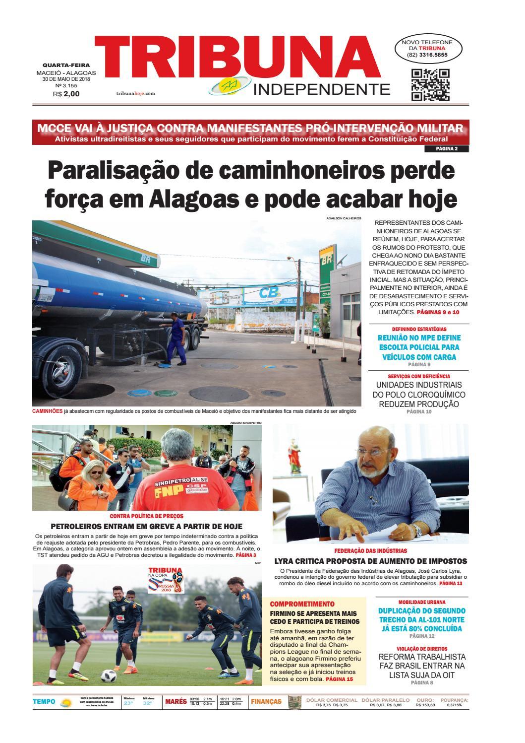 34ae764b3 Edição número 3155 - 30 de maio de 2018 by Tribuna Hoje - issuu
