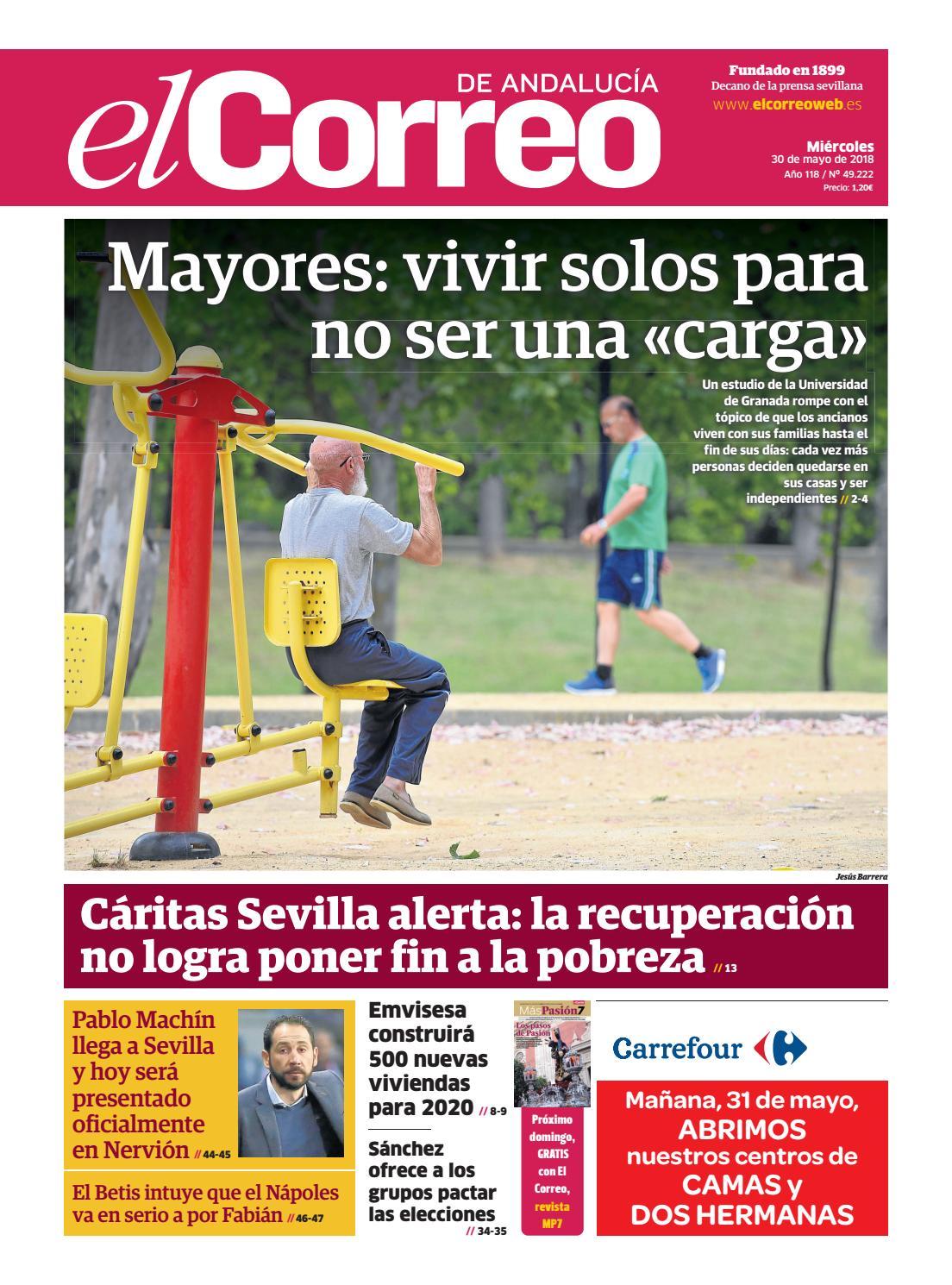 30.05.2018 El Correo de Andalucía by EL CORREO DE ANDALUCÍA S.L. - issuu dee9c9fce864f
