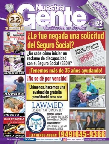 Nuestra Gente 2018 Edicion 22 Zona 3 by Nuestra Gente - issuu
