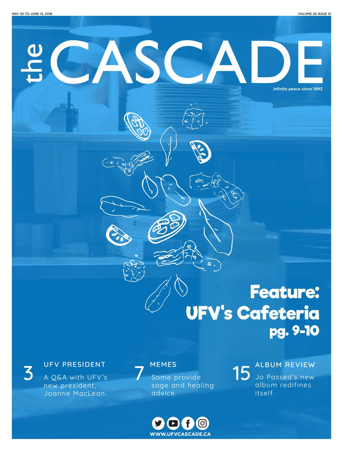 The Cascade Vol  26 Issue 15 by The Cascade - issuu