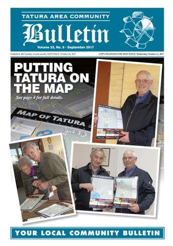 Tatura bulletin september edition 2018 by tatura bulletin issuu page 1 fandeluxe