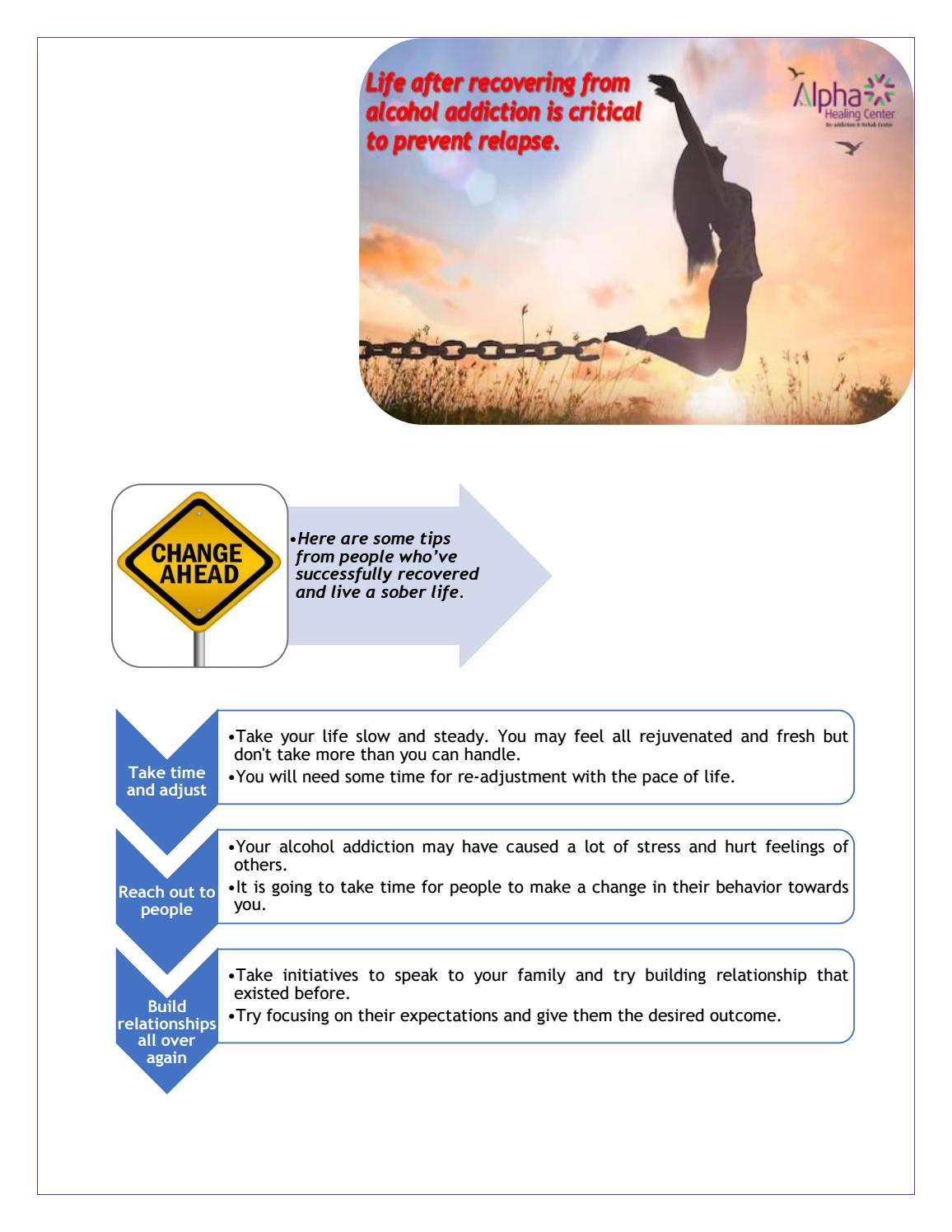 0ada581afb0e Life after recovering from alcohol addiction is critical to prevent relapse