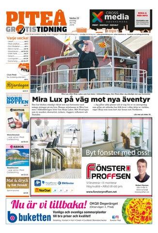 791abb22de94 Piteå Gratistidning by Svenska Civildatalogerna AB - issuu