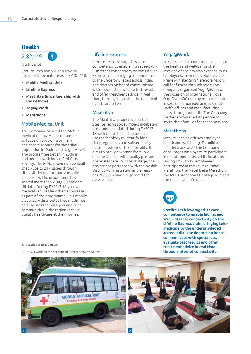 Sterlite Tech Annual Report 2017-18 by Sterlite