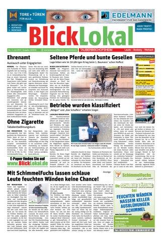 BlickLokal Tauberbischofsheim KW 22 2018 by BlickLokal Wochenzeitung ...