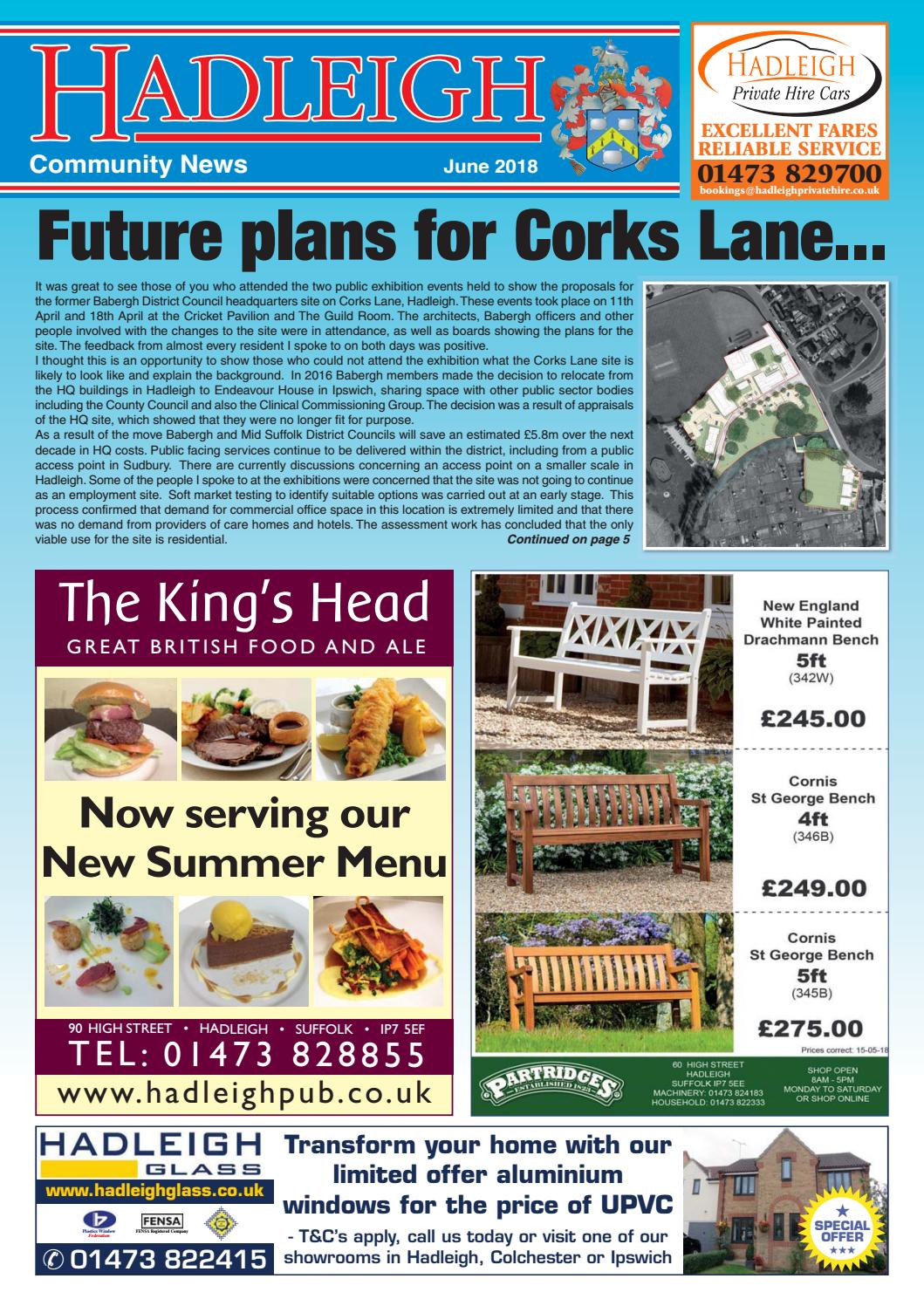 a5fdf8e7bb Hadleigh Community News, June 2018 by Keith Avis Printers - issuu