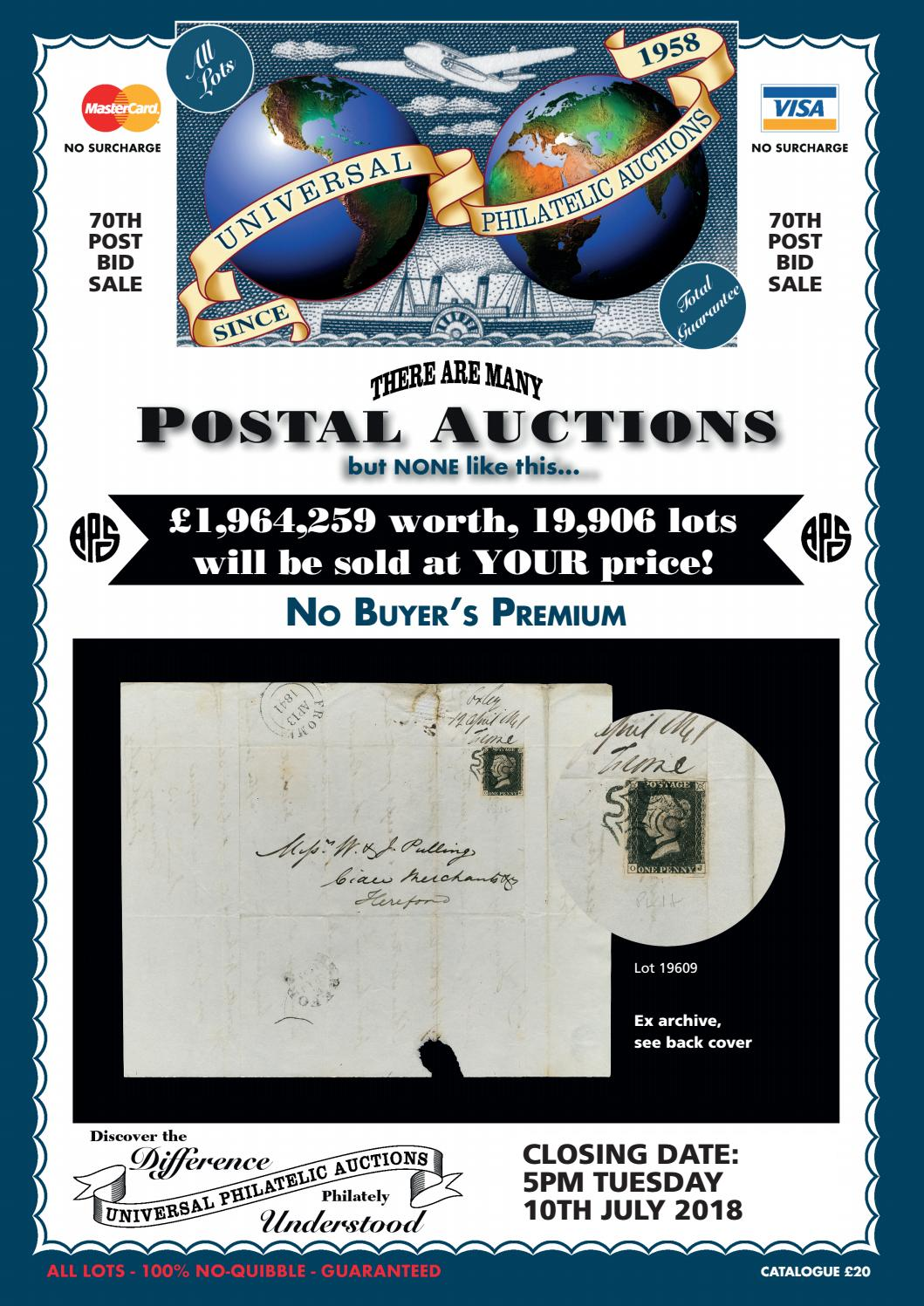 719e7d9ad89e8 Universal Philatelic Auctions by Auction Technology Group - issuu