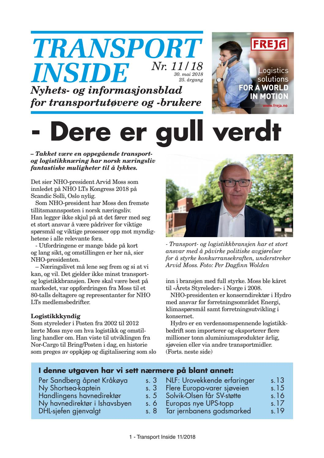 0fc6ff6de9ca Transport Inside 11 - 2018 by Øyvind Ludt - issuu