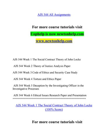 research papers social contract theory