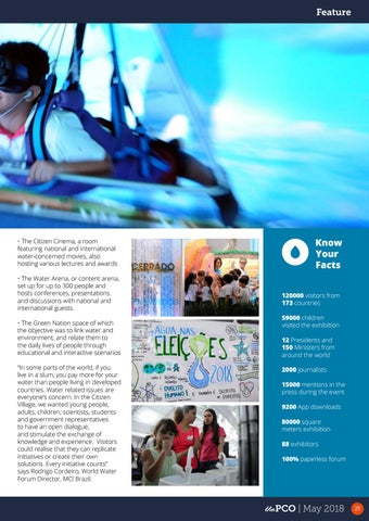 Page 21 of World Forum raises awareness on water related issues