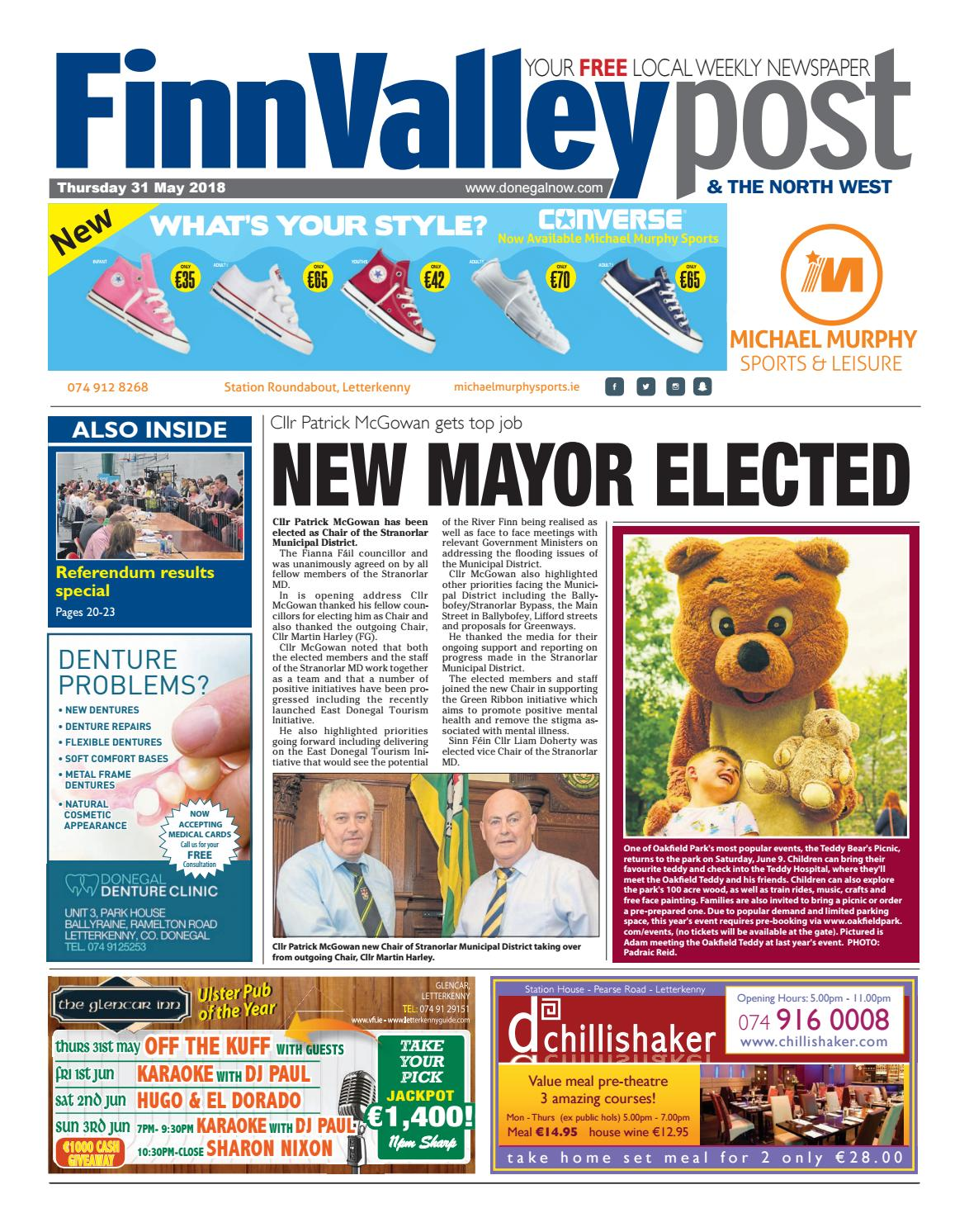 Finn valley post 31 05 2018 by River Media Newspapers - issuu