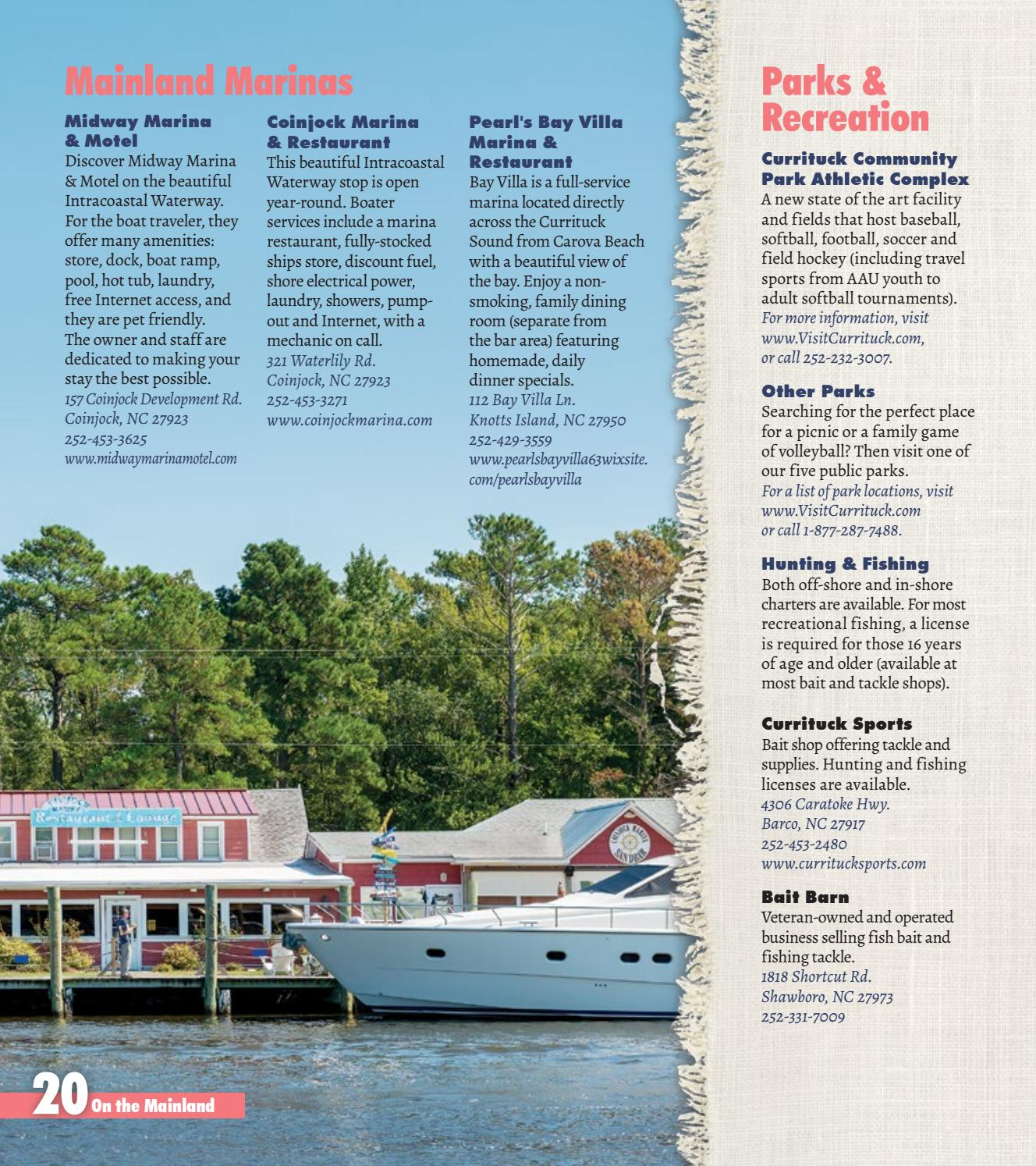 Currituck OBX Visitors Guide By Currituck Outer Banks
