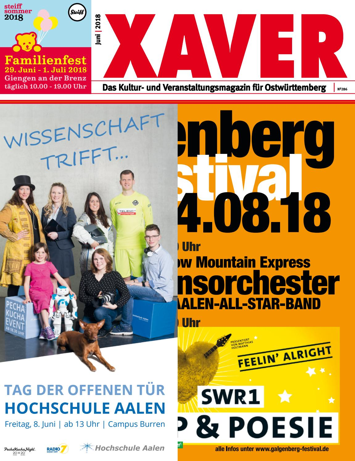 5b975b309bb3b XAVER 06|2018 by Hariolf Erhardt - issuu