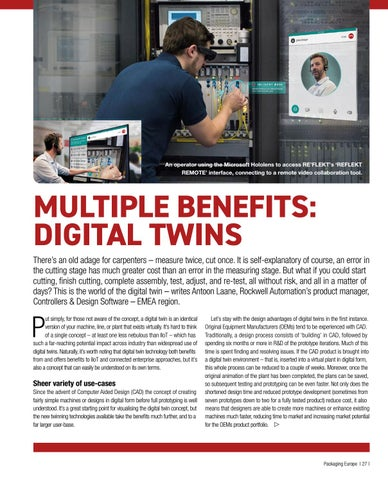 Page 29 of MULTIPLE BENEFITS: DIGITAL TWINS