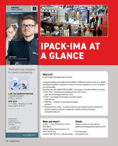 Page 40 of IPACK-IMA AT A GLANCE