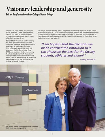 Page 6 of Visionary leadership and generosity