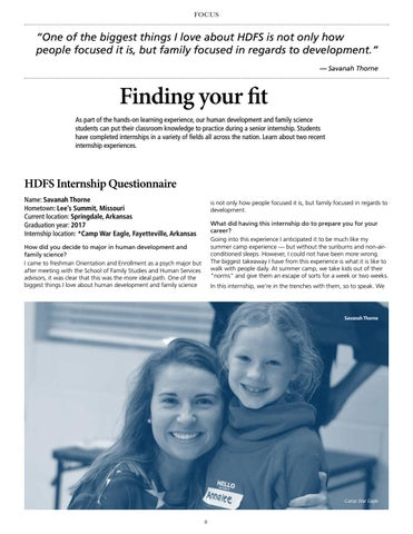 Page 8 of Finding your fit