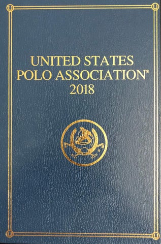 designer fashion ee38b 53534 2018 USPA Bluebook by United States Polo Association - issuu