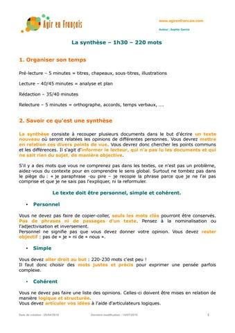 dalf c1 dissertation