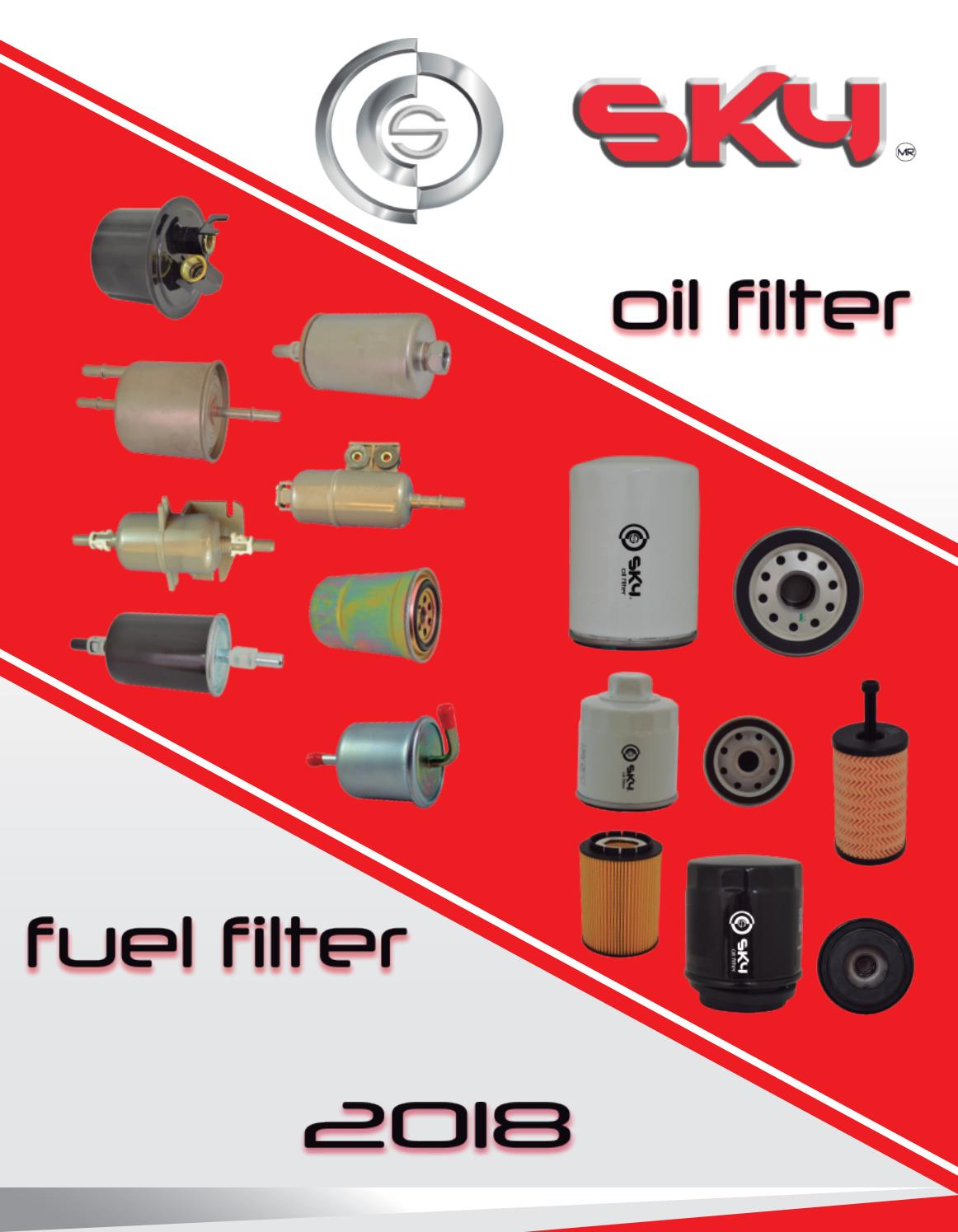 Catalogo Linea Completa Sky Filter By Mvdo7 Issuu 2007 Chevy Aveo Ls Fuel