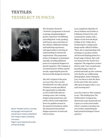 Page 9 of Textiles: TexSelect in Focus