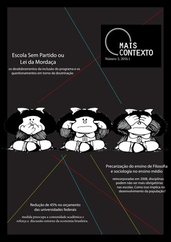 Revista Mais Contexto -3 by Jornal Contexto (DCOS UFS) - issuu 7c76ef10a9790