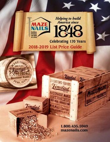 "NEW Tremont 7D Box Of Finish Nails 2 1//4/"" Hardened Cut Nails 1 Pound Box"