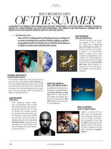Page 54 of Record Releases of the Summer