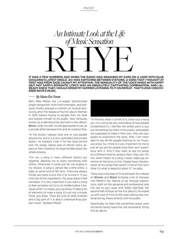 Page 57 of An Intimate Look at the Life of Music Sensation Rhye