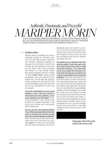 Page 70 of Authentic, Passionate, and Peaceful Maripier Morin