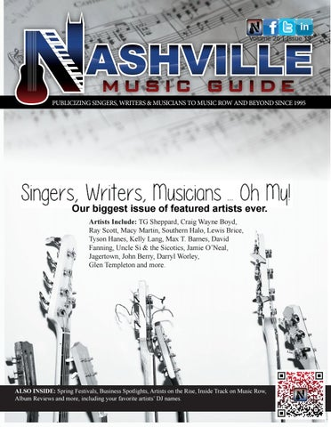 March:april 2018 vol 26 #190 by Nashville Music Guide - issuu