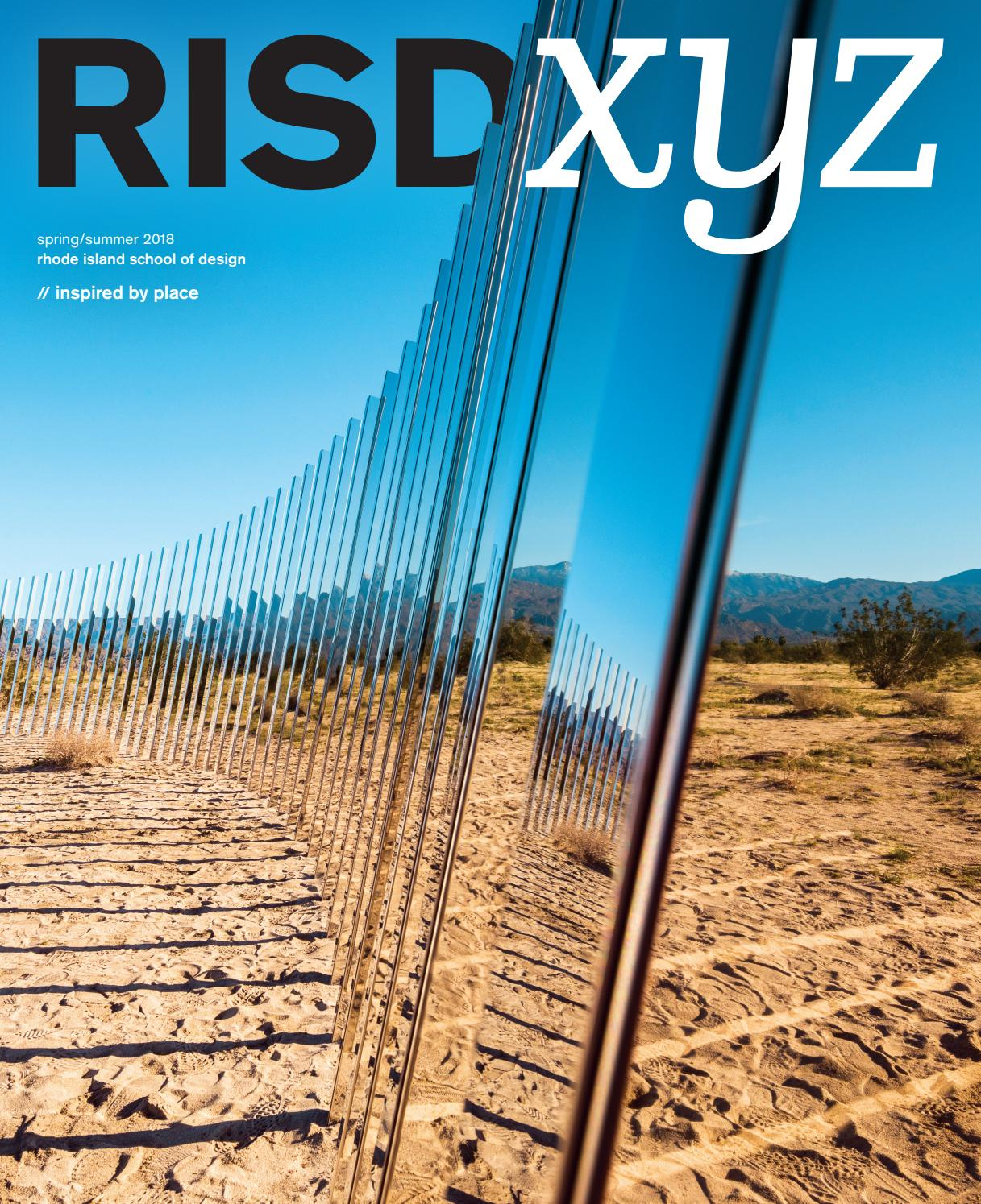 RISD XYZ Spring/Summer 2018 by Rhode Island School of Design - issuu