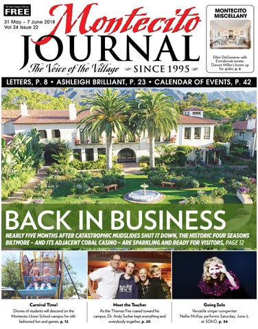 Back in Business by Montecito Journal - issuu