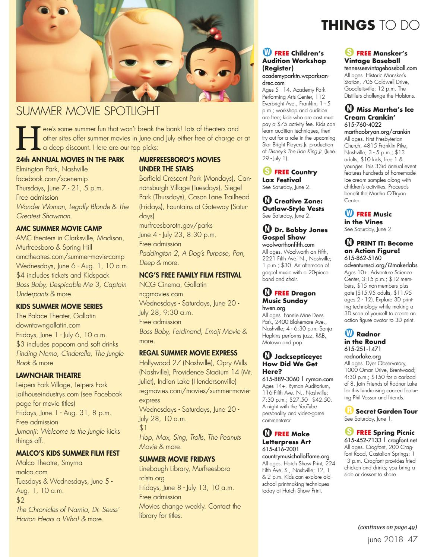 Sumner Parent magazine June 2018 by Day Communications