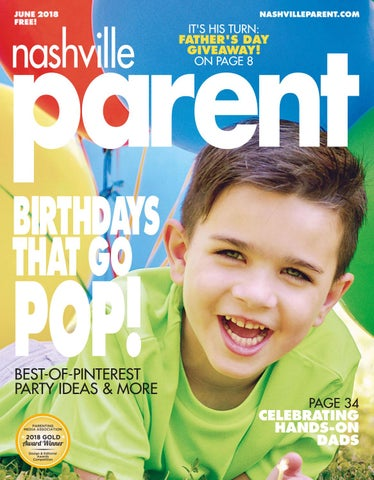 Nashville Parent Magazine June 2018 By Day Communications DayCom