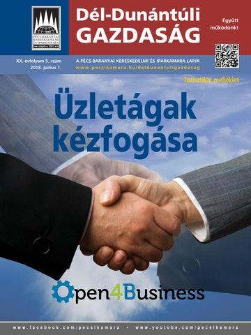 f1232b6df1 Dél-Dunántúli Gazdaság XX. évfolyam 5. szám by Pécs-Baranyai ...